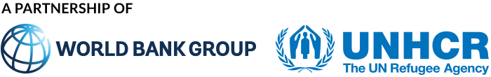 A partnership of World Bank Group and UNHCR, the UN Refugee Agency