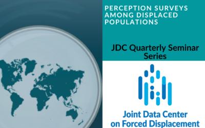Seminar on Perception Surveys among Displaced Populations
