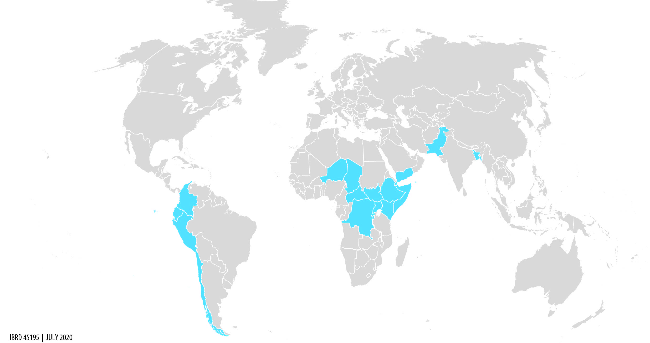 JDC Work Program Countries